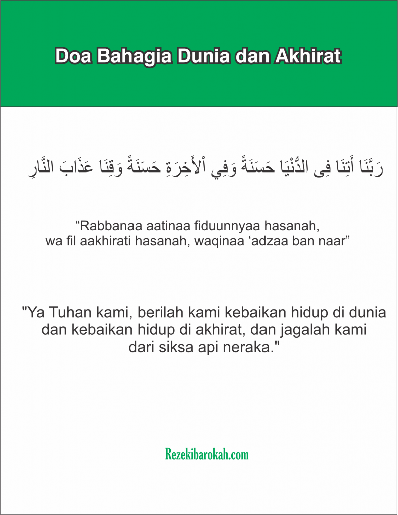 doa sesudah sholat wajib panjang