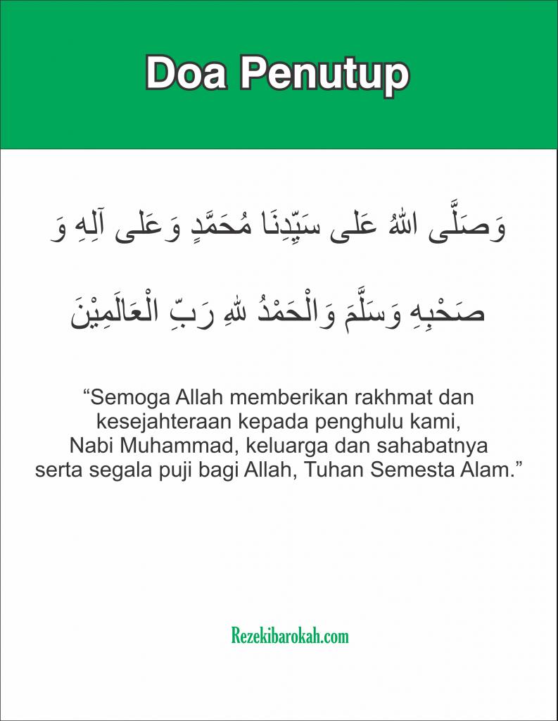 doa setelah sholat wajib 5 waktu nu
