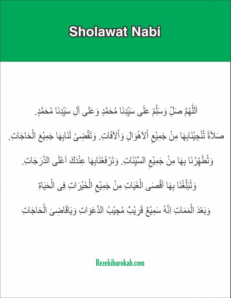 doa setelah sholat wajib pdf