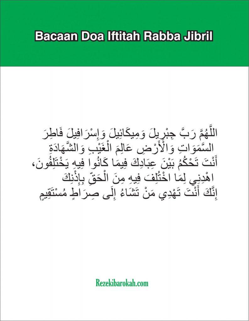 doa iftitah kabiro