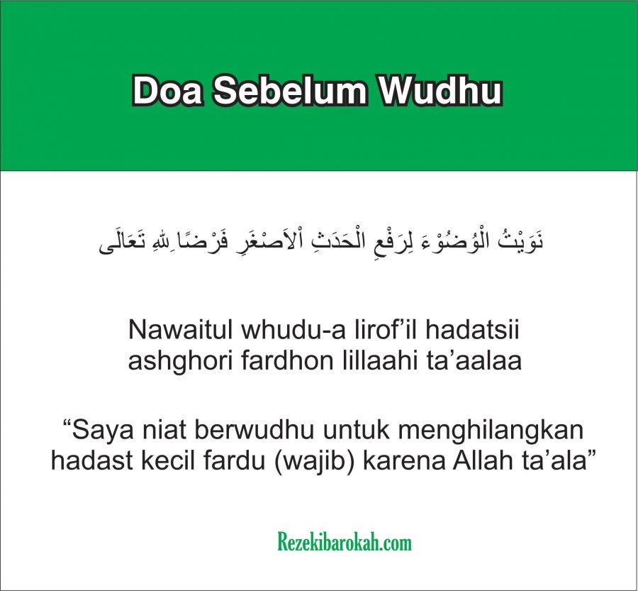doa setelah wudhu muhammadiyah